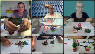 Visionsarbeit mit LEGO